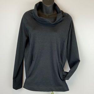 Dark grey Mountain Hardwear cowl neck knit sweater